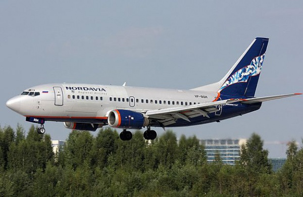 "самолет ""Нордавиа"""