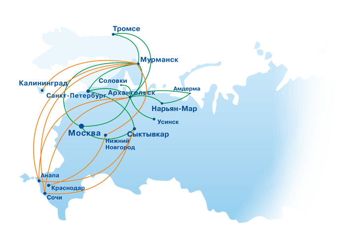 Как добраться на Соловки nasolovkiru