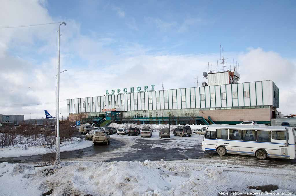 airport Polyarniy